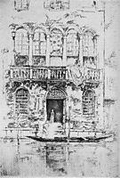 The Balcony, 1880, whistler