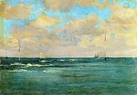Bathing Posts, 1893, whistler