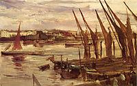Battersea Reach, c.1863, whistler