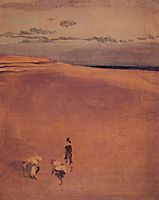 The Beach at Selsey Bill, c.1865, whistler