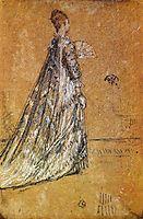 The Blue Dress, c.1871, whistler