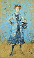 The Blue Girl, 1874, whistler