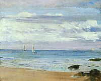 Blue and Silver Trouville, 1865, whistler
