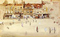 Chelsea Shops, c.1885, whistler