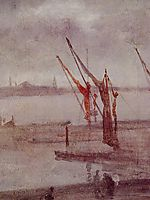 Chelsea Wharf Grey and Silver, c.1875, whistler