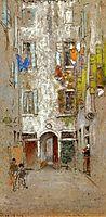 Corte del Paradiso, c.1880, whistler