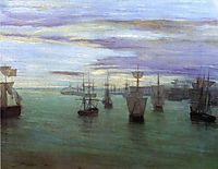 Crepuscule in Flesh Color and Green: Valparaiso, 1866, whistler