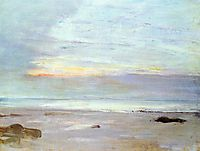 Crepuscule in Opal Trouville, 1865, whistler