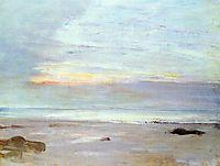Crepuscule in Opal Trouville, 1865, whistler