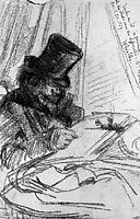 Fantin Latour drawing Sun, whistler