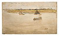 Gold and Brown: Dordrecht, 1884, whistler