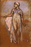 The Greek Slave Girl (or Variations in Violet and Rose), c.1886, whistler