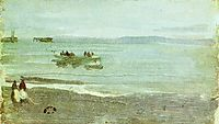 Grey and Silver Mist - Lifeboat, 1884, whistler