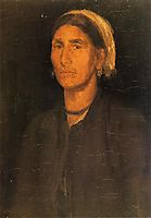 Head of a Peasant Woman, 1858, whistler
