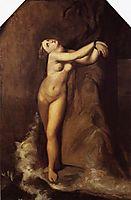 Ingres, Roger Deliverant Angelique, 1857, whistler
