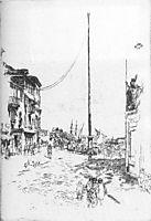 The Little Mast, 1880, whistler