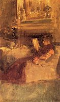 Miss Ethel Philip Reading, c.1894, whistler