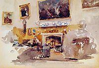 Moreby Hall, 1884, whistler