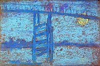 Nocturne: Battersea Bridge, c.1872, whistler