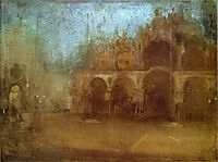 Nocturne: Blue and Gold - St Mark-s, Venice, 1880, whistler