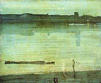 Nocturne in Blue and Green, 1871, whistler