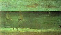 Nocturne: Blue and Silver—Bognor, 1876, whistler