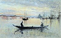 Note in Flesh Colour: The Guidecca, 1880, whistler