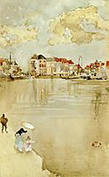 Note in Gold and Silver - Dordrecht, c.1884, whistler