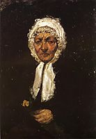 Old Mother Gerard, 1859, whistler