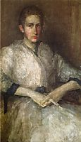 Portrait of Ellen Sturgis Hooper, 1890, whistler