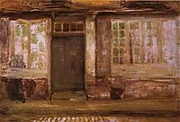 The Priests Lodging - Dieppe, 1897, whistler