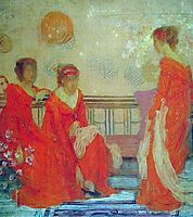 Red and Black, c.1884, whistler