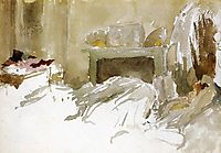 Resting in Bed, c.1884, whistler