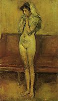 Rose and Brown: La Cigale, c.1898, whistler