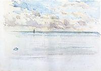 Seascape, Dieppe, c.1886, whistler
