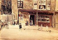 The Shop - An Exterior, c.1885, whistler