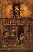 A Shop with a Balcony, c.1899, whistler