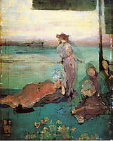 Sketch for , 1870, whistler