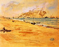 Study for Mouth of the River, 1877, whistler