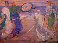 Symphony in Blue and Pink, c.1868, whistler