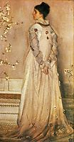 Symphony in Flesh Colour and Pink: Portrait of Mrs Frances Leyland, 1873, whistler