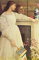 Symphony in White, No. 2: The Little White Girl , 1864, whistler