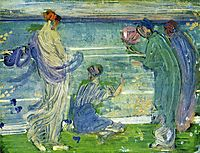 Variations in Blue and Green, 1868, whistler