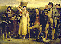 The Abbotsford family , 1817, wilkie