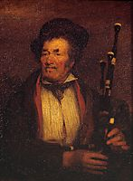 The Bag-Piper , 1813, wilkie