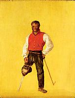 Billy Waters, mariner and street performer/ beggar, 1815, wilkie