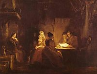 The Cotter-s Saturday Night, 1837, wilkie