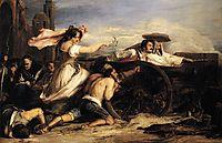 The Defence of Saragoça , 1828, wilkie