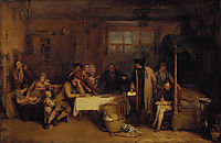 Distraining for Rent, 1815, wilkie