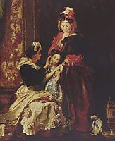 The first earring, 1835, wilkie